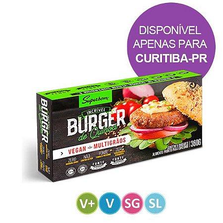 Hamburguer de Quinoa Vegano Superbom