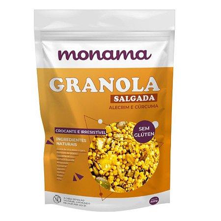 Granola Salgada Sem Glúten Monama 200g