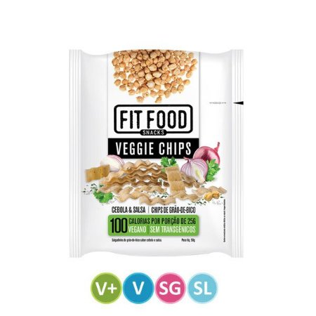 Veggie Chips Cebola & Salsa Fit Food
