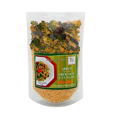 Arroz com Brócolis e Funghi Vegano Tui