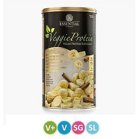 Veggie Protein Banana e Canela Essential 450g