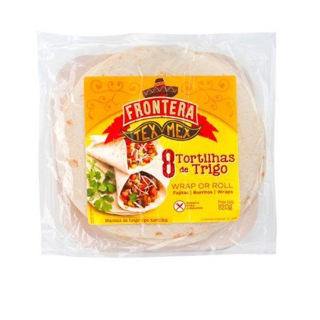 Tortilhas de Trigo Tex Mex Frontera