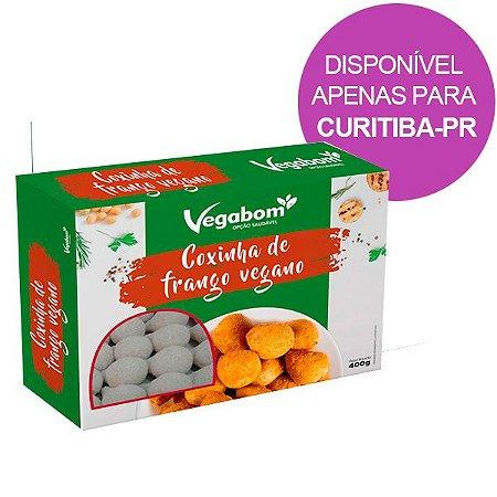 Coxinha de Frango Vegana Vegabom