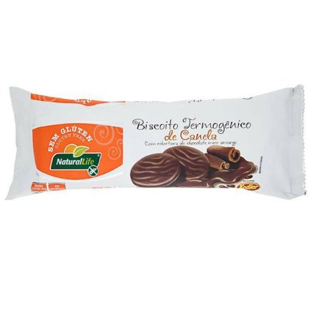 Biscoito Termogênico de Canela com Chocolate 140g