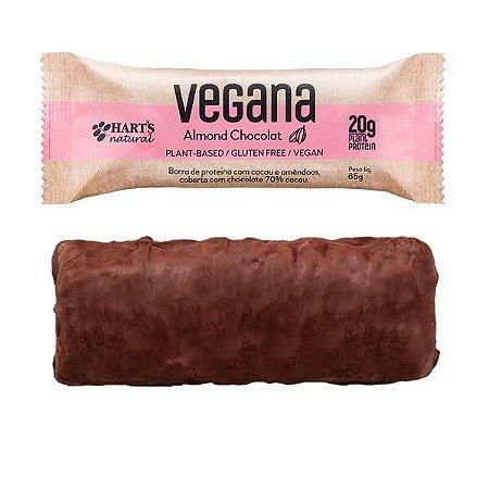 Barras de Proteína Vegana Amêndoas Hart's