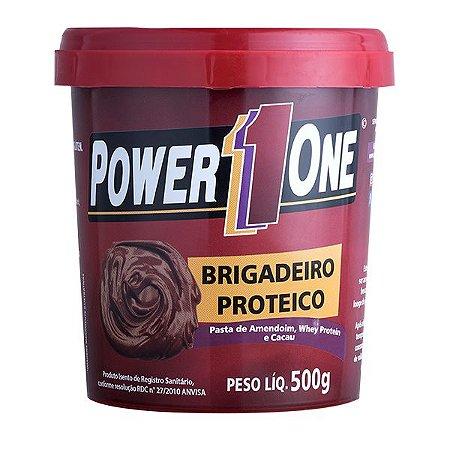 Pasta de Amendoim Brigadeiro Proteico Power1One