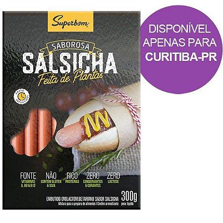 Salsicha Vegetal Sanduíche Superbom - 400g