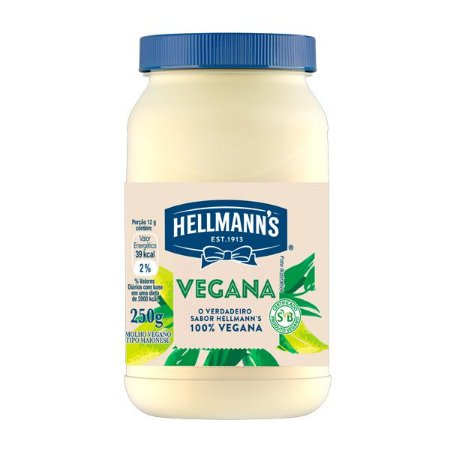 Maionese Hellmann's Vegana 250g