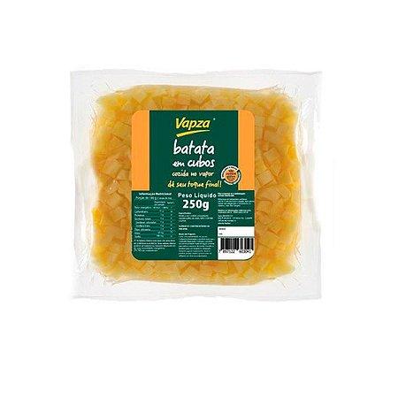 Batata em Cubos Cozida Vapza 250g