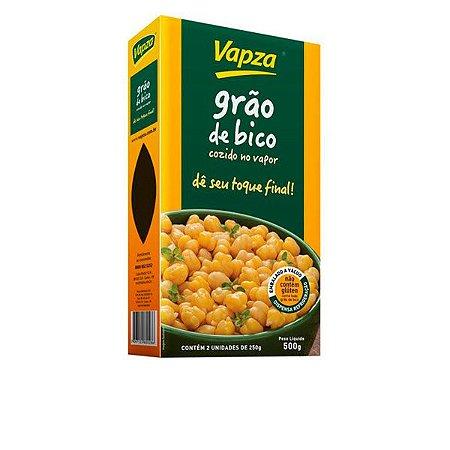 Grão de Bico Cozido no Vapor Vapza 500g