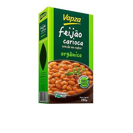 Feijão Carioca Orgânico Cozido Vapza 250g