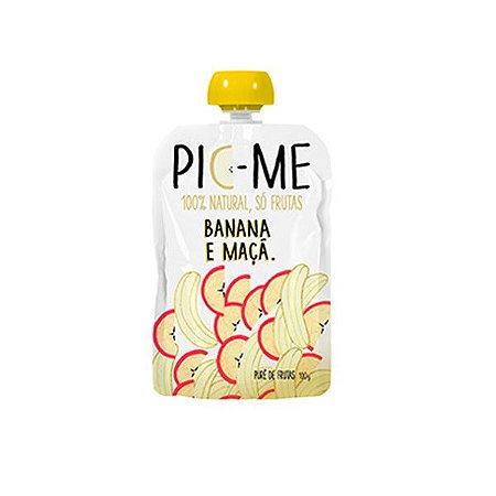 Purê de Frutas 100% Natural Banana e Maçã