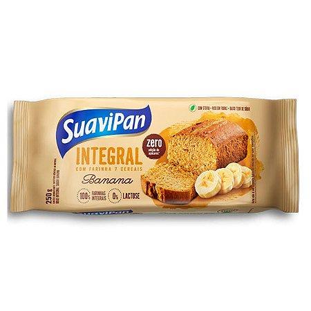 Bolo Integral de Banana Zero Açúcar Suavipan
