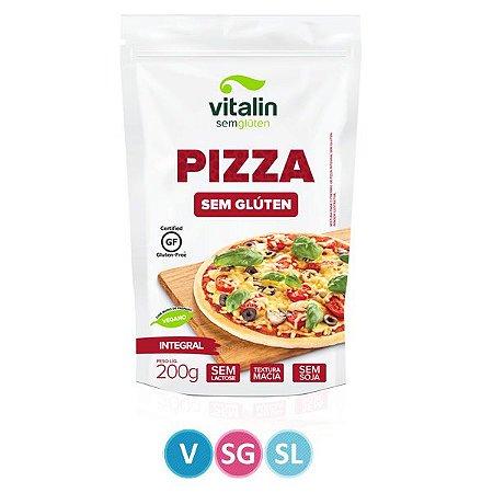 Mistura Integral para Pizza Sem Glúten Vitalin