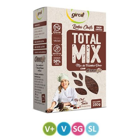Mix de Farinhas Doce Total MIx Giroil