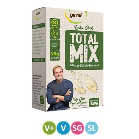 Mix de FarinhasFuncional Total MIx Giroil