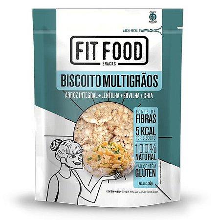 Biscoito de Arroz Integral Multigrãos