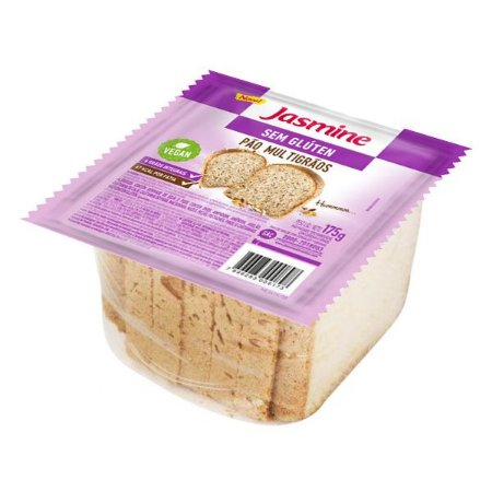 Pão Multigrãos Fatiado Sem Glúten Jasmine 175g