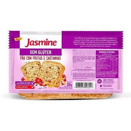 Pão Fatiado Frutas e Castanhas Jasmine 350g