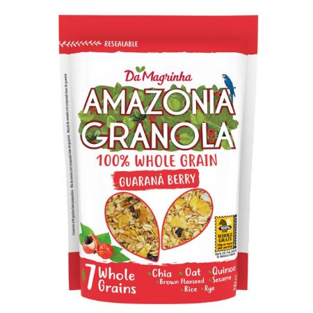 Granola Guaraná Berry 100% Integral