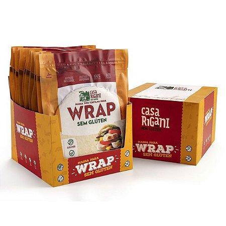 Massa para Wrap Sem Glúten caixa com 72 unidades