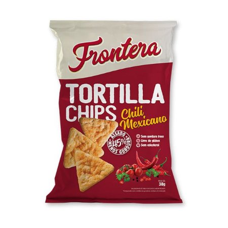 Tortilha Chips sabor Chili Mexicano