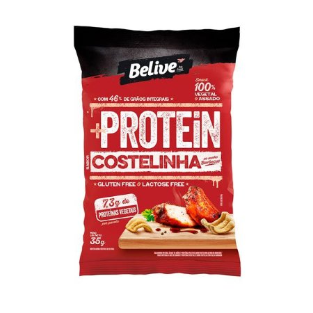 Snack Protein Costelinha ao molho Barbecue