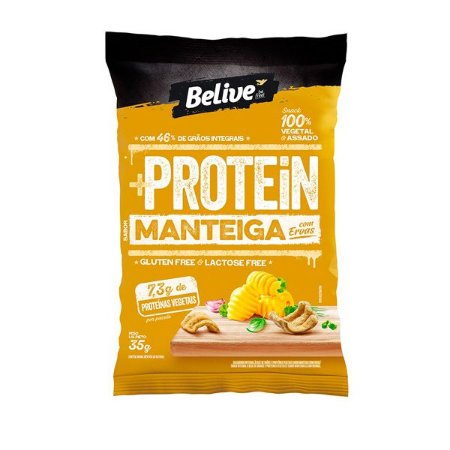 Snack Protein Manteiga com Ervas