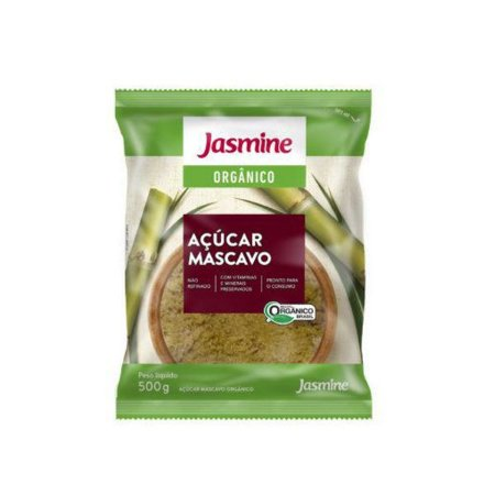 Açúcar Jasmine Mascavo Orgânico 500g