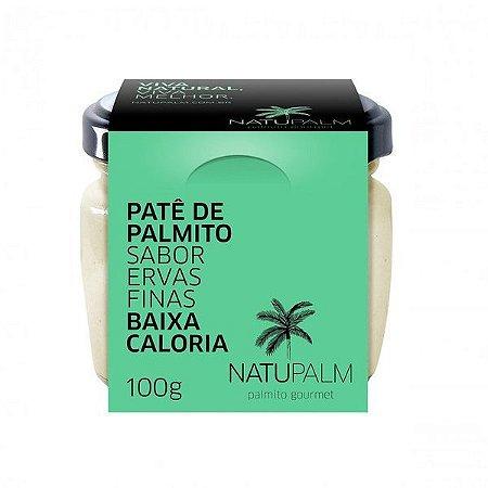 Patê de Palmito sabor Ervas Finas