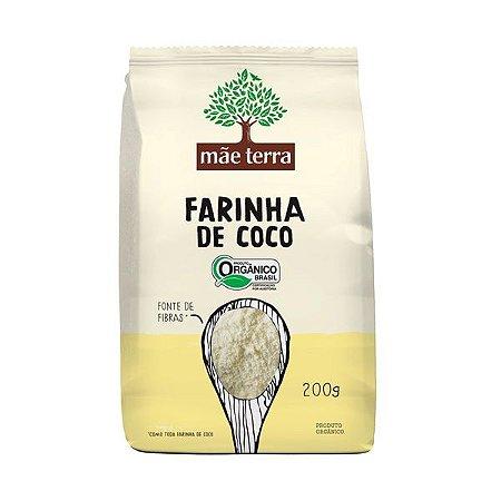 Farinha de Coco Orgânico Mãe Terra