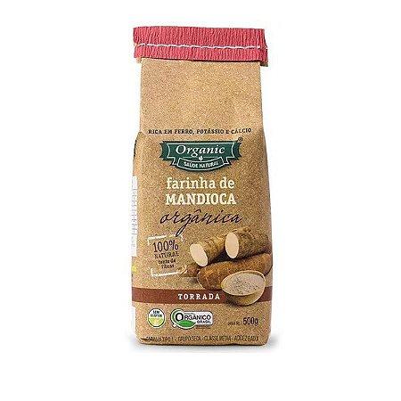Farinha de Mandioca Torrada Orgânica 500g
