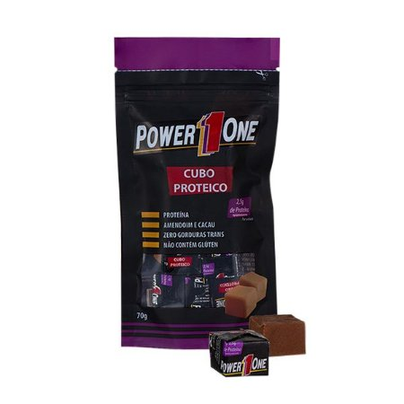 Cubo Proteico de Amendoim Power One