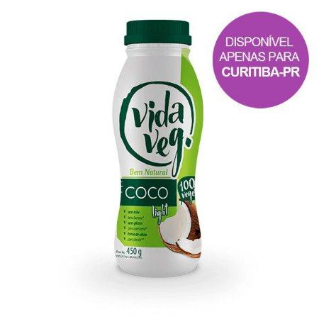 Iogurte Light Coco Vida Veg 450g