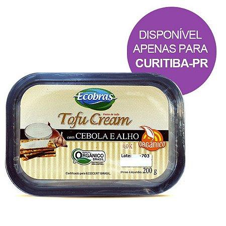Tofu Cream Cebola e Alho