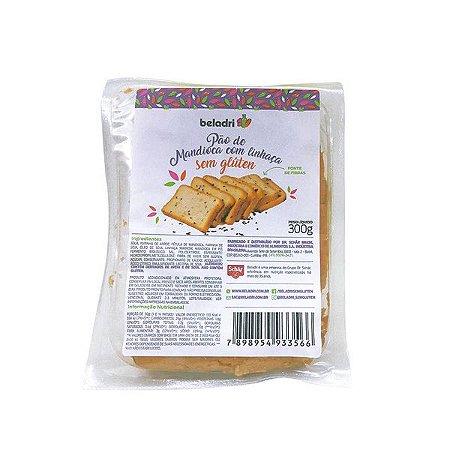 Pão de Mandioca com Linhaça Sem Glúten Beladri