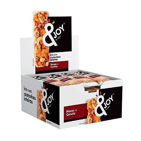 Barra Mixed Nuts Nozes e Canela &Joy - Caixa com 12