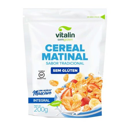 Cereal Matinal Tradicional Sem Glúten Vitalin
