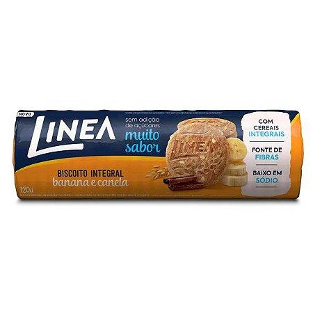 Biscoito Integral Banana e Canela Linea