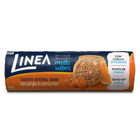 Biscoito Integral Laranja e Cenoura Linea