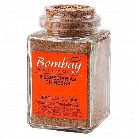 Tempero 5 Especiarias Chinesas Bombay 50g