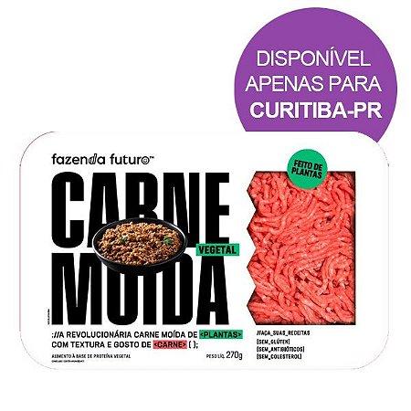 Carne Moída Vegetal Fazenda Futuro