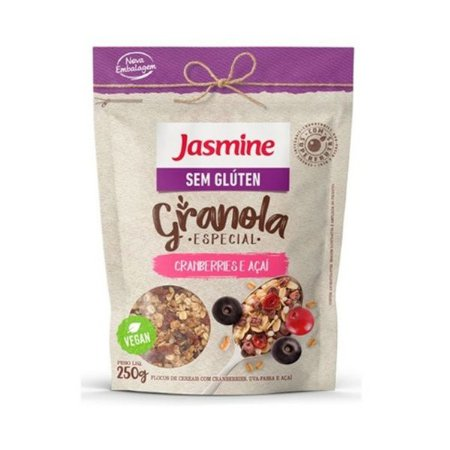 Granola Sem Glúten Cranberry Jasmine