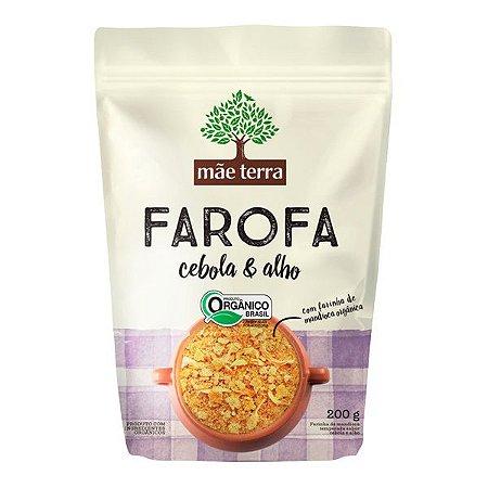 Farofa Cebola e Alho Orgânica Mãe Terra