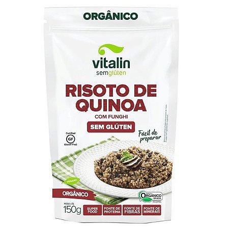 Risoto de Quinoa com Funghi Sem Glúten Vitalin