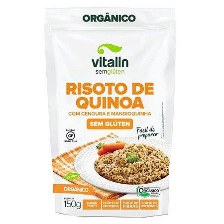 Risoto de Quinoa com Mandioquinha e Cenoura
