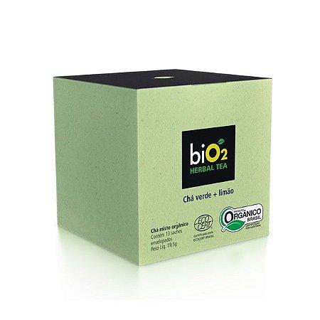 Chá Verde Orgânico com Limão biO2