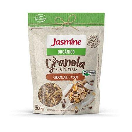 Granola Orgânica Chocolate e Coco Jasmine