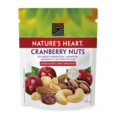 Cranberry Nuts Nature's Heart