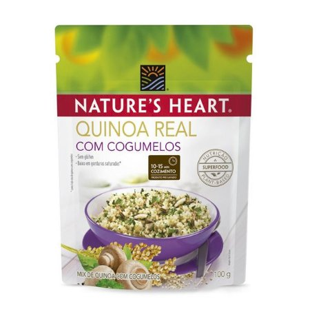 Quinoa com Cogumelos Nature's Hearth